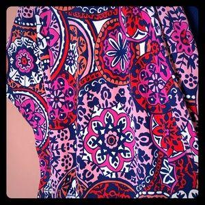 Liz Claiborne wrap dress size xl